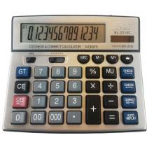 ماشین حساب رومیزی BLD مدل BL-2214C