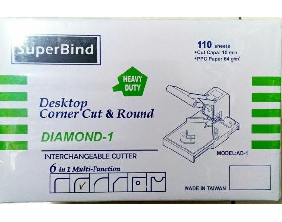 دستگاه گوشه گردکن سوپربایند DIAMOND AD1