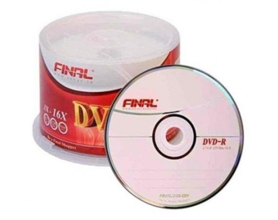 دی وی دی DVD فینال 50 عددی باکس دار