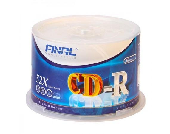سی دی CD فینال 50 عددی باکس دار