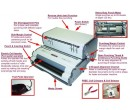 فنرزن مارپیچی تمام برقی سوپربایند تایوان COILMAC-EPI SuperBind