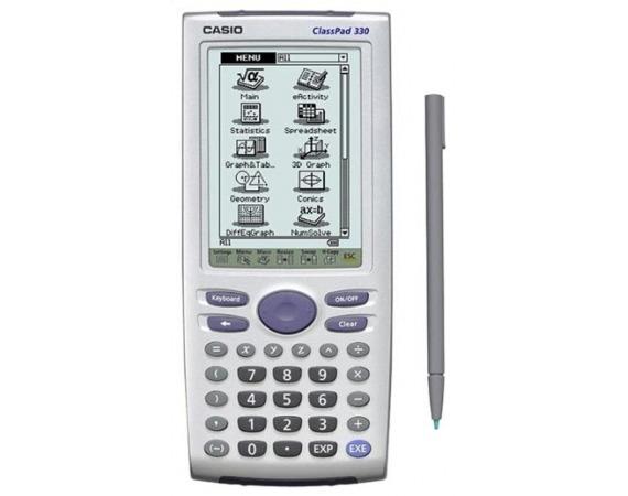 ماشین حساب مهندسی کاسیو کلاس پد 330 CASIO CLASSPAD