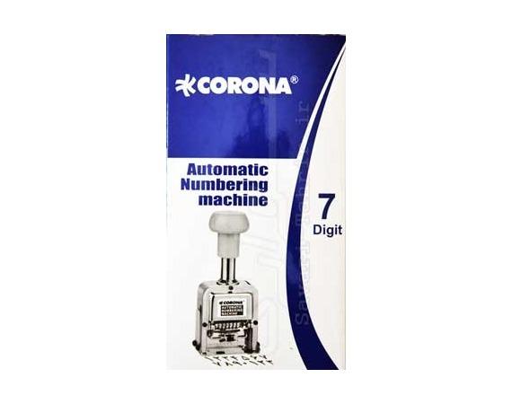 دستگاه شماره زن 7 رقمی کرونا CORONA