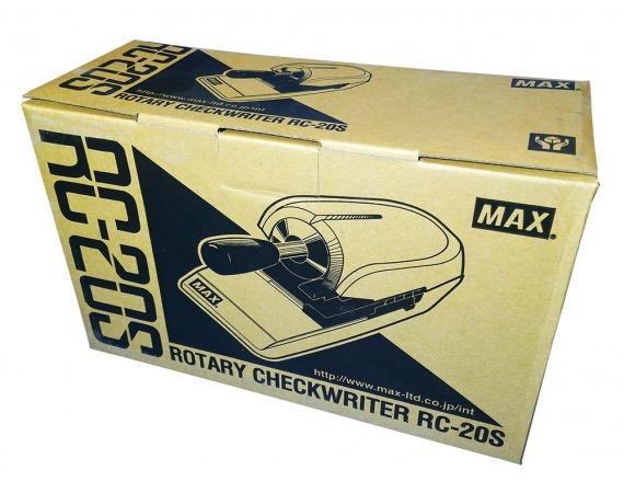 پرفراژ چک دستی MAX RC-20S تایوان